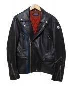 ROTAR(ローター)の古着「ダブルライダースジャケット」 ブラック