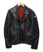 ROTAR(ローター)の古着「ダブルライダースジャケット」|ブラック