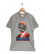 Supreme×Undercover(シュプリーム×アンダーカバー)の古着「Synhead Tee Tシャツ」|グレー