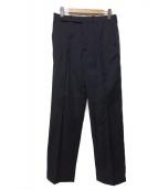 NAMACHEKO(ナマチェコ)の古着「TUUWA TROUSERS 20SS パンツ」|ブラック