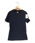 MONCLER GAMME BLEU(モンクレール ガム ブルー)の古着「半袖カットソー」|ネイビー