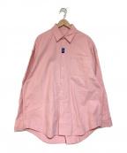 ADER error(アーダーエラー)の古着「オーバーサイズシャツ」|ピンク