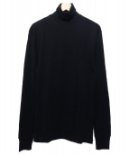 LEMAIRE(ルメール)の古着「タートルネックカットソー」 ブラック