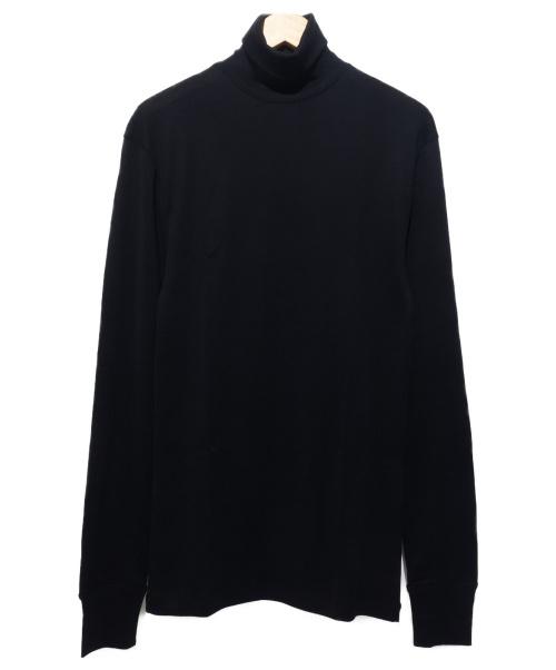 LEMAIRE(ルメール)LEMAIRE (ルメール) タートルネックカットソー ブラック サイズ:Sの古着・服飾アイテム