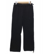 KAIKO(カイコ)の古着「SWEAT TRAINING PANTS」|ブラック