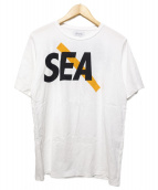 SATURDAYS SURF NYC(サタデイズサーフニューヨークシティー)の古着「プリントTシャツ」|ホワイト
