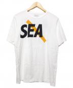 SATURDAYS SURF NYC(サタデーズサーフニューヨーク)の古着「プリントTシャツ」|ホワイト