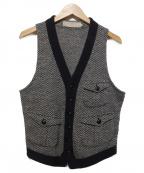 HAVERSACK()の古着「ニットジレ」|グレー