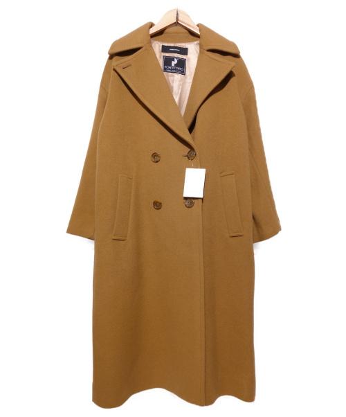 JOURNAL STANDARD(ジャーナルスタンダード)JOURNAL STANDARD (ジャーナルスタンダード) カシミヤ混ダブルコート キャメル サイズ:F PONTETORTO社製生地使用の古着・服飾アイテム