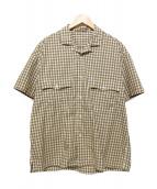 Porter Classic(ポータークラシック)の古着「KEROUAC SHIRT」|ベージュ