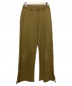 SIMON MILLER(サイモンミラー)の古着「スウェットワイドパンツ」|ブラウン
