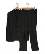 TAGLIATORE(タリアトーレ)の古着「セットアップスーツ」|ブラック