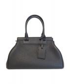 MOYNAT(モワナ)の古着「ハンドバッグ」|ブラック