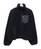 NEON SIGN(ネオンサイン)の古着「ボアジャケット」|ブラック