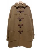 Martin Margiela14(マルタンマルジェラ14)の古着「ダッフルコート」|ブラウン