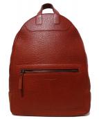 Martin Margiela11(マルタンマルジェラ11)の古着「レザーバックパック リュック バッグ」|レッド