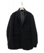 Engineered Garments(エンジニアドガーメンツ)の古着「LDT Jacket - HB/Windowpanジャケット」|ネイビー