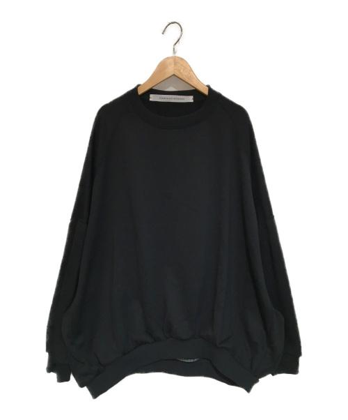 COGTHEBIGSMOKE(コグザビッグスモーク)COGTHEBIGSMOKE (コグザビッグスモーク) ビッグスウェット ブラック サイズ:記載なし(実寸をご確認下さい) 2101-317-218-1の古着・服飾アイテム