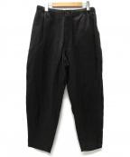 Pilgrim Surf+Supply(ピルグリム サーフ+サプライ)の古着「Harry Aizu Easy Pant パンツ」 ブラウン