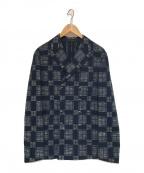 THE GIGI(ザ・ジジ)の古着「ダブルジャケット」|ブルー