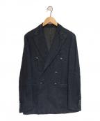THE GIGI(ザ・ジジ)の古着「インディゴリネンダブルジャケット」|ブルー