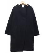 UNITED TOKYO(ユナイテッドトウキョウ)の古着「ハイネックコクーンコート」|ブラック