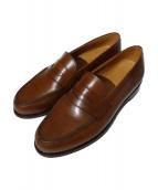 Jalan Sriwijaya(ジャランスリウァヤ)の古着「コインローファー 98589 靴」 ブラウン