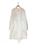 digawel(ディガウェル)の古着「モッズコート」|ホワイト