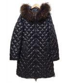 TATRAS(タトラス)の古着「DEADIA ダウンコート」|ブラック