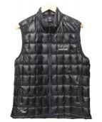mont-bell(モンベル)の古着「プラズマ1000ダウンベスト」|ブラック
