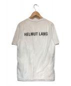 ()の古着「チュールオーバーレイロゴTシャツ」|ホワイト
