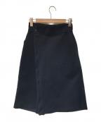 adidas×HYKE(アディダス×ハイク)の古着「ジャージースカート」|ネイビー