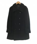 tricot COMME des GARCONS()の古着「ネップ加工コート」 ブラック