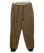 gorsch  the seamster(ゴーシュザシームスター)の古着「ウールリブパンツ」|ブラウン