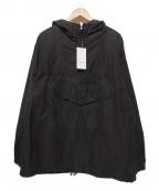KUON(クオン)の古着「プルオーバー ジャケット アノラック」|ブラック