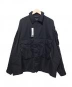 DAIWA PIER39(ダイワ ピアサーティンナイン)の古着「MIL FIELD JACKET ジャケット 完売アイテム」 ブラック