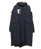 DAIWA PIER39(ダイワ ピアサーティンナイン)の古着「GORE-TEX INFINIUM Fishtail パーカ」 ブラック