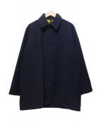 Showerproofed GARMENT(シャワープルーフガーメント)の古着「メルトンジャケット」|ブラック