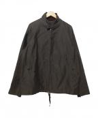 PHIGVEL MAKERS(フィグベルマーカーズ)の古着「MOLESKIN DRIZZLER JACKET ジャケット」|オリーブ