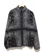 supreme(シュプリーム)の古着「Reversible Bandana Fleece フリース」|ブラック