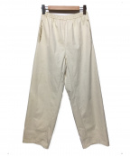 CLASS(クラス)の古着「KARACHIウルトラスウェードワイドパンツ」|ホワイト