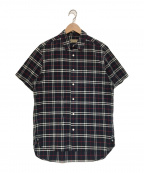 BURBERRY()の古着「バーバリーチェックシャツ」|ネイビー