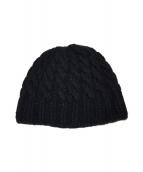 ()の古着「カシミヤニット帽」 ブラック