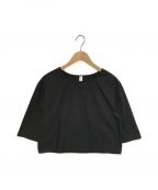 merlette(マーレット)の古着「S/Sブラウス」 ブラック