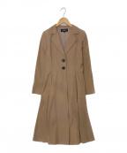 FOXEY BOUTIQUE(フォクシー ブティック)の古着「シングルコート」|ベージュ