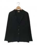 Cruciani()の古着「ニットジャケット」 ブラック