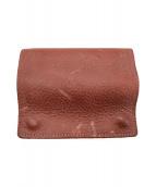 ()の古着「2つ折り財布」 レッド