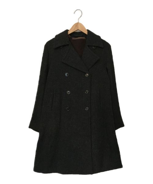 YAECA(ヤエカ)YAECA (ヤエカ) ライナー付ウールトレンチコート グレー サイズ:Sの古着・服飾アイテム