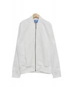 adidas(アディダス)の古着「トラックジャケット」|ホワイト