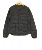 DESCENTE(デサント)の古着「H.C.S Down Cardie L/S ジャケット」|ブラック